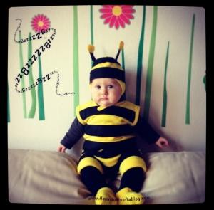 vestito carnevale ape