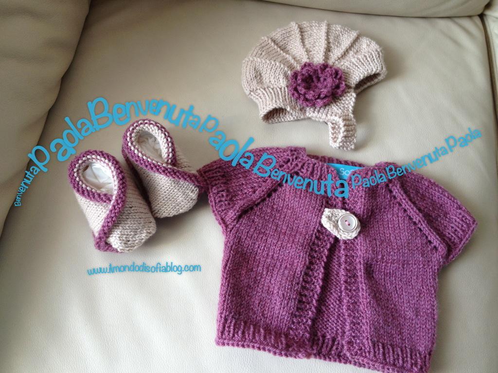 Eccezionale Benvenuta Paola | Il Mondo di Sofia: maglia, cucito, ricette e  ZT58