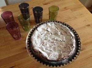 torta al coiccolato