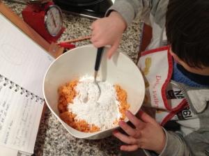il mondo di sofia torta di carote