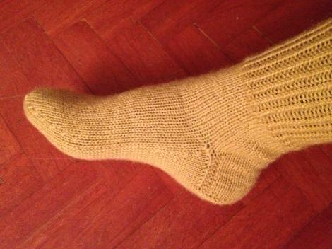 calzini maglia  5 ferri