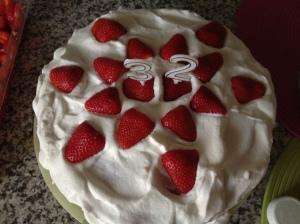 foto torta fragole