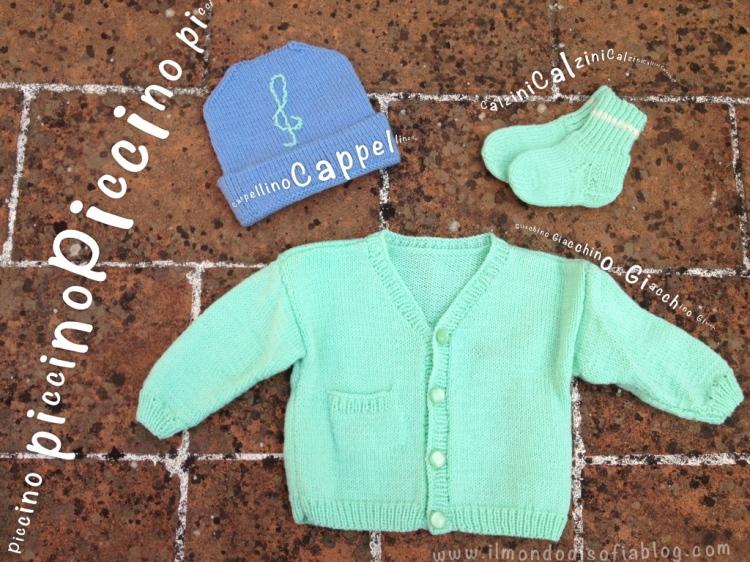 giacchino a maglia neonato