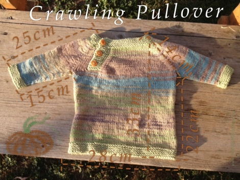 crawling pullover