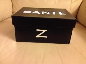 scatola con nome che si illumina