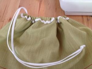 sacchetto stoffa per asilo