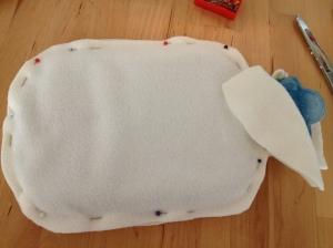 Dolci coccole: copri borsa dell'acqua calda