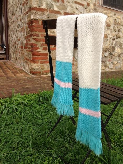 sciarpa semplice senza età