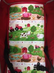 """copri passeggino """"Happy Farm!"""""""
