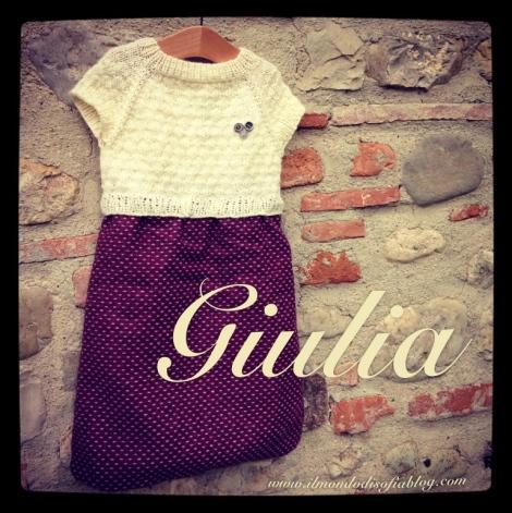 Giulia Vestito Con Corpetto A Maglia Il Mondo Di Sofia Maglia