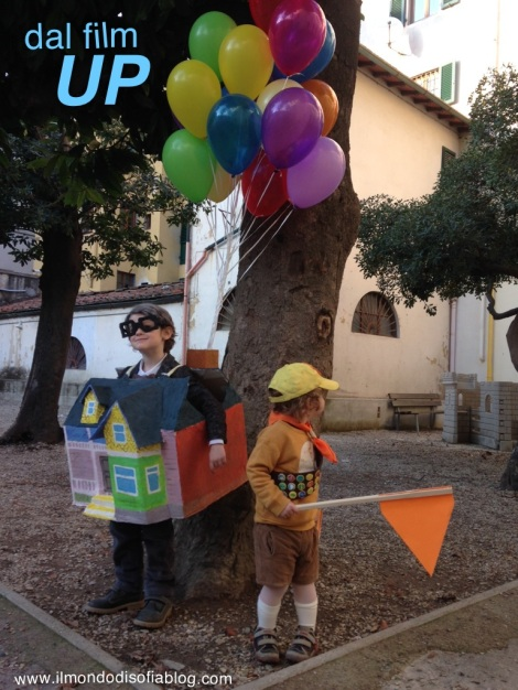 Costume mr fredricksen e russell