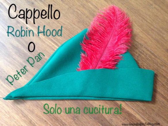 """nuovo prodotto godere del prezzo più basso enorme sconto Vestito di Carnevale """"Cappellino Robin Hood o Peter Pan ..."""