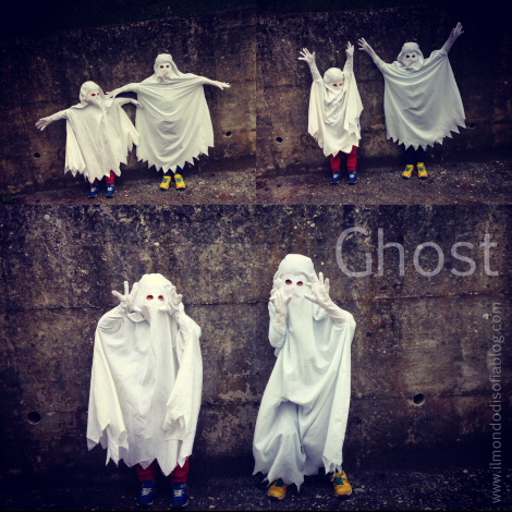 vestito da fantasmi