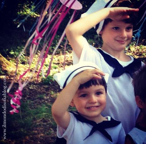 vestito carnevale marinaio