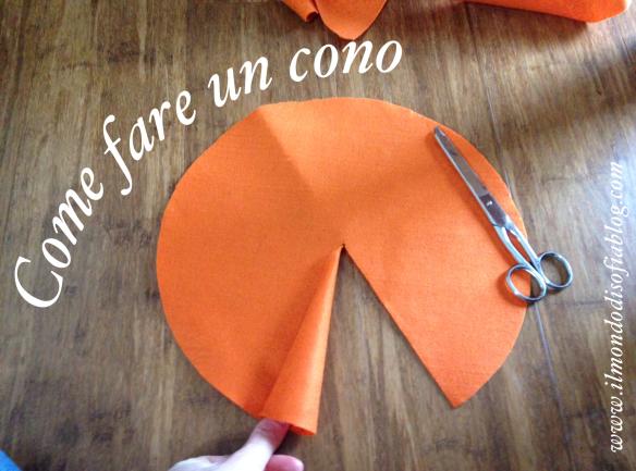 vasta gamma di acquistare miglior sito Come fare un cono | Il Mondo di Sofia: maglia, cucito ...