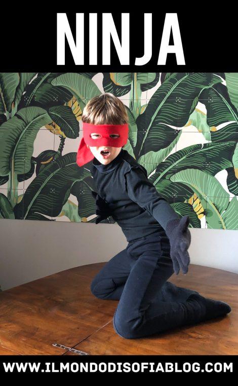 vestito carnevale ninja